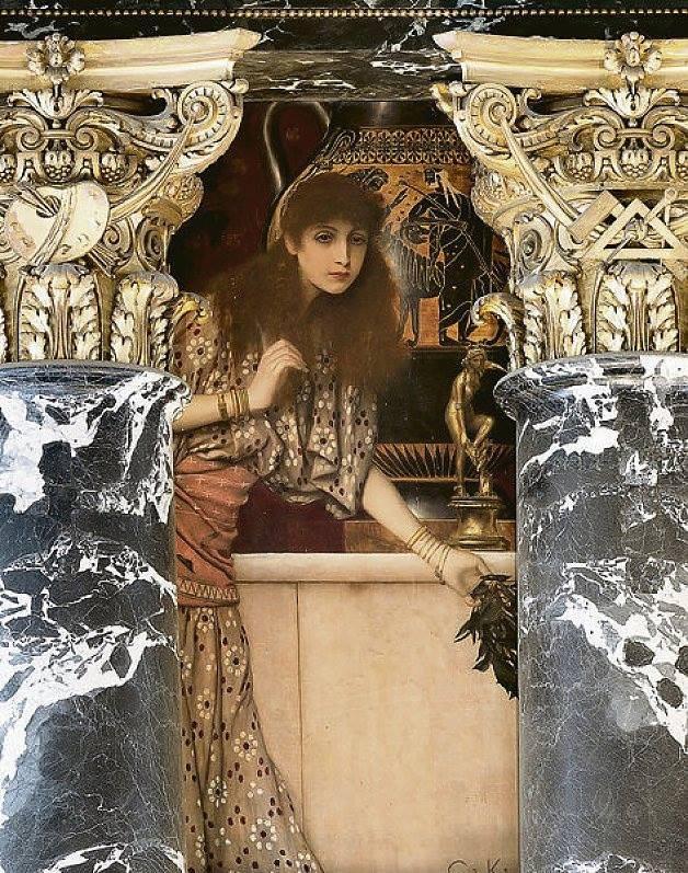 Gustav Klimt Ancient Greece (The Girl from Tanagra), 1890